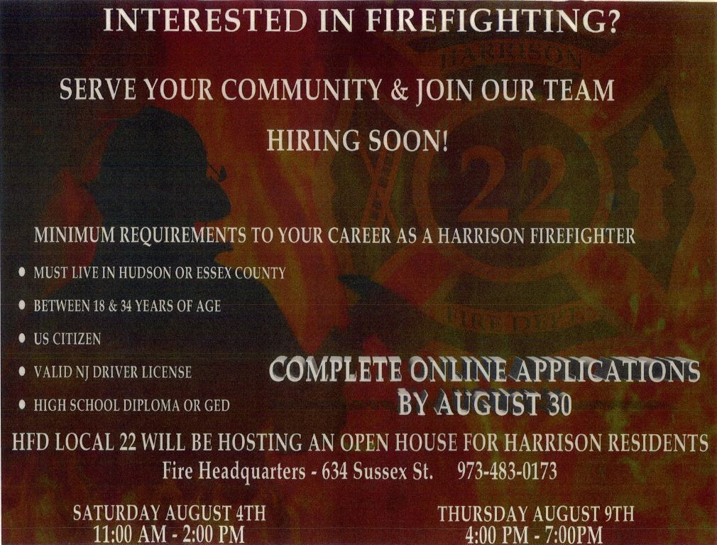 Apply for Firefighting Jobs