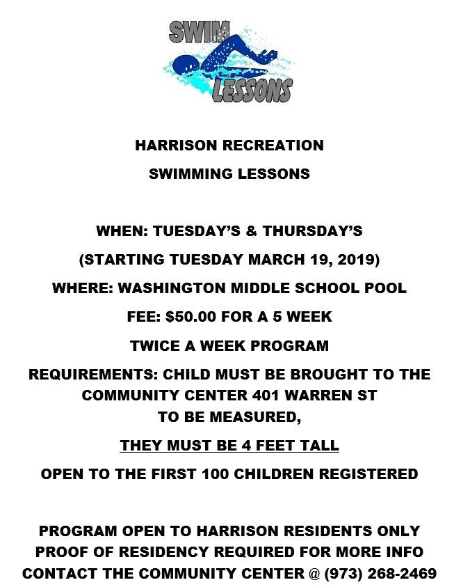 Recreation Swim Lessons